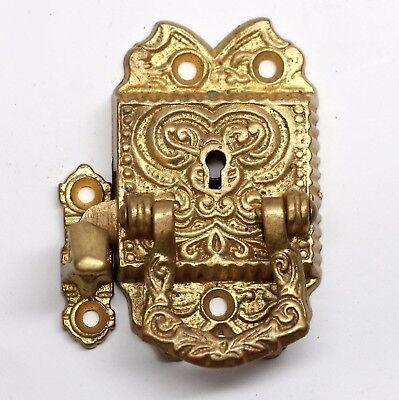 Gold Gilded Bronze Ornate Ice Box Latch