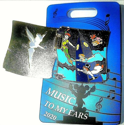 Disney Cast Exclusive 2020 Music to My Ears Peter Pan LE 800 Pin .
