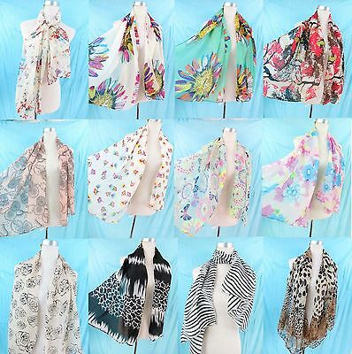 *US Seller*wholesale lot of 10 fashion Scarves spring summer seasons