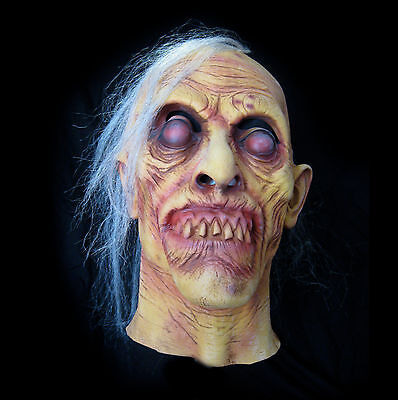 Graves Zombie Old Man Undead Monster Walker Don Post Adult Latex Halloween Mask