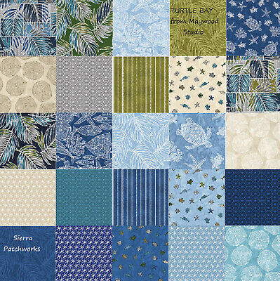 Turtle Bay Charm Pack From Maywood Studio - (42) 5