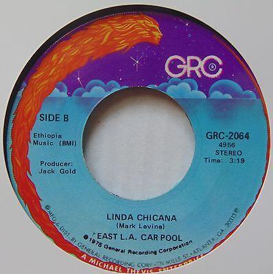 EAST LA CAR POOL: Linda Chicana GRC latin FUNK 45 boogie (Linda Pool)