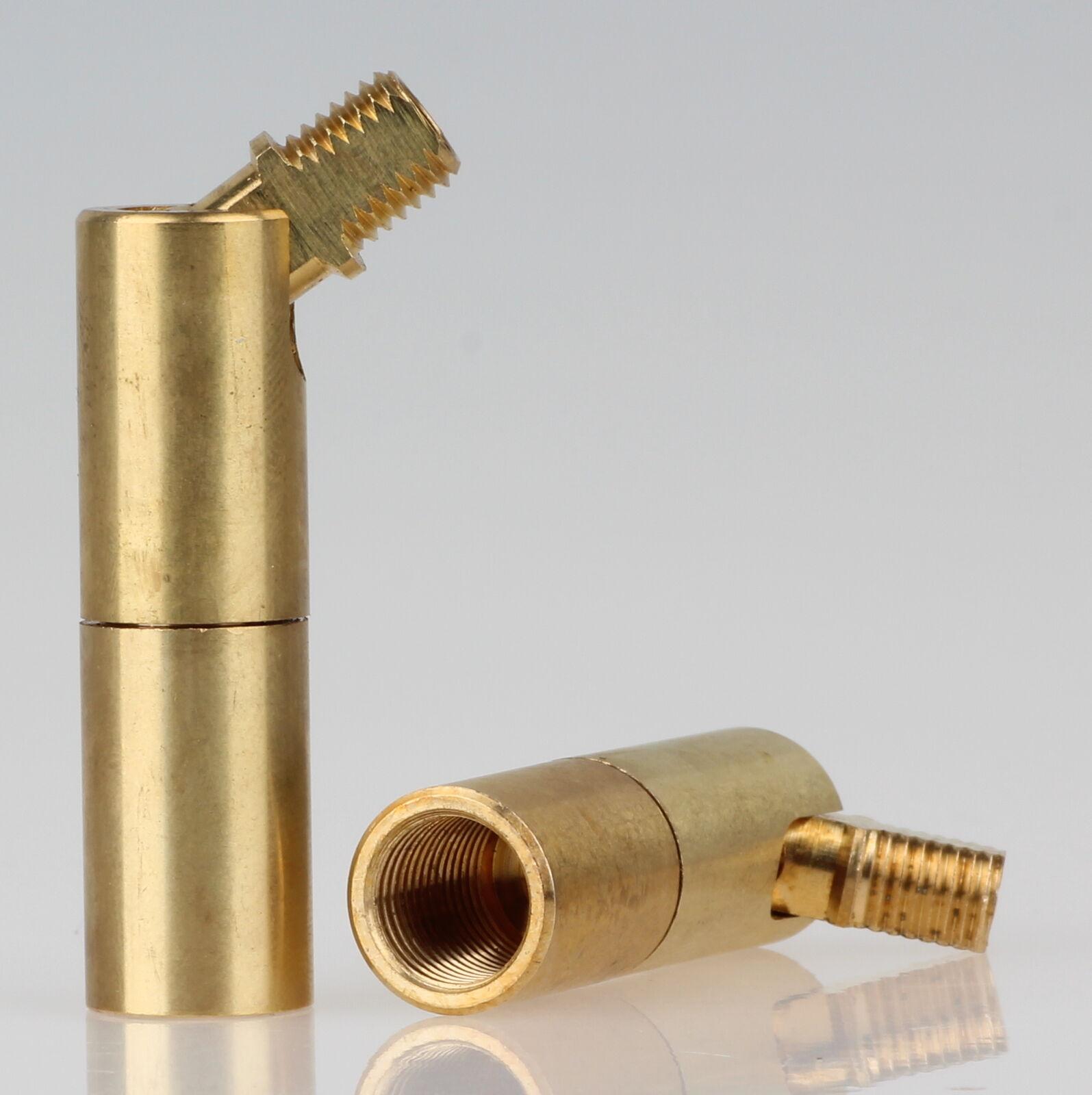 16x30mm M10x1 IG /& AG  Winkelgelenk Messing-Flügelgelenk 90° kippbar