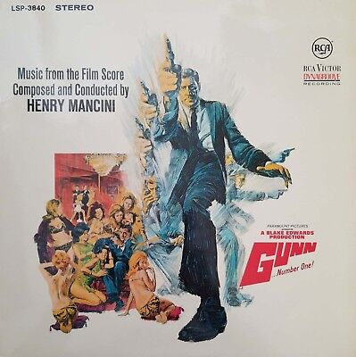 Gunn Number One! Vintage Vinyl Record 1967 LP VG+ LSP-3840