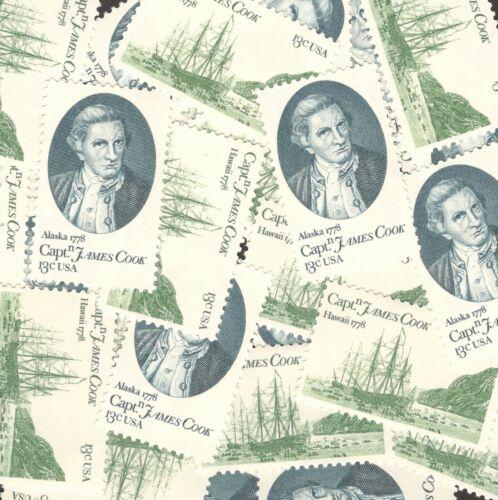 1732-33 Captain James Cook Wholesale Lot Of 10 Sets (20 Stamps) MNH Below Face