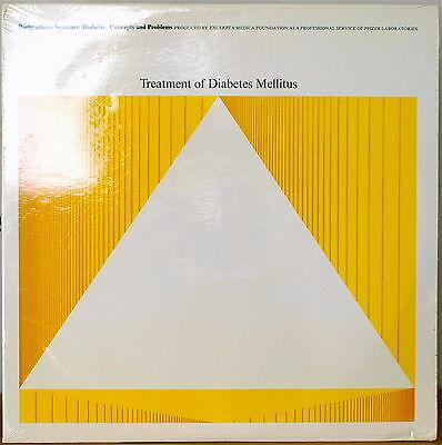 Treatment Of Diabetes Mellitus Sealed1966lp Pfizer Laboratories Excerpta Medica