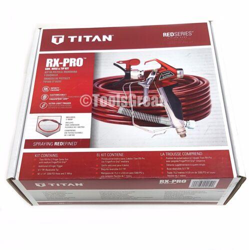 New Titan RX-PRO Airless Paint Sprayer Gun and Hose Kit 0538022