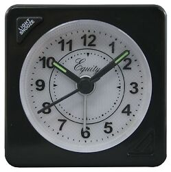 20078 Equity by La Crosse Quartz Travel Alarm Clock Refurbished - LOT OF 10