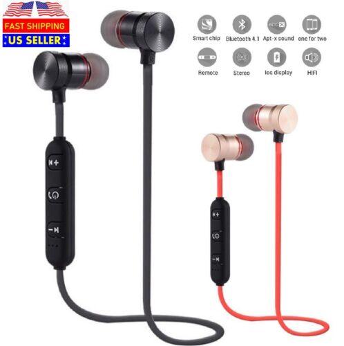 Sweatproof Bluetooth Earbuds Sports Wireless Headphones Ear Headsets Earphones Cell Phone Accessories