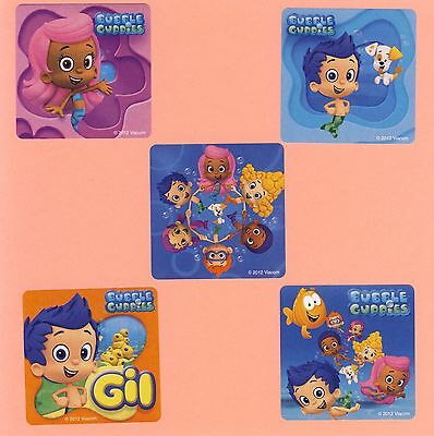 15 Bubble Guppies - Large Stickers - Party Favors](Bubble Guppies Stickers)