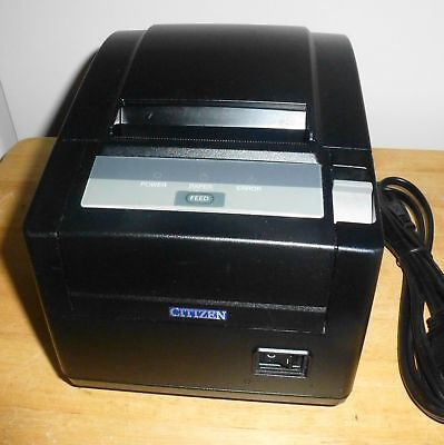 Citizen Ct-s601 Pos Thermal Receipt Printer Network Ethernet Usb Autocut 200mms