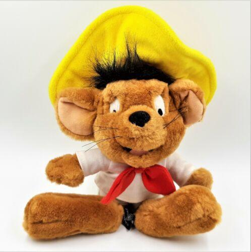 Speedy Gonzalez Plush Stuffed Animal Mouse Vintage 1995 Warner Bros Studio Store