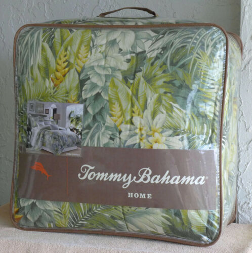 New Tommy Bahama Cuba Cabana Tropical 4-piece Queen Comforter Set, FREE SHIPPING