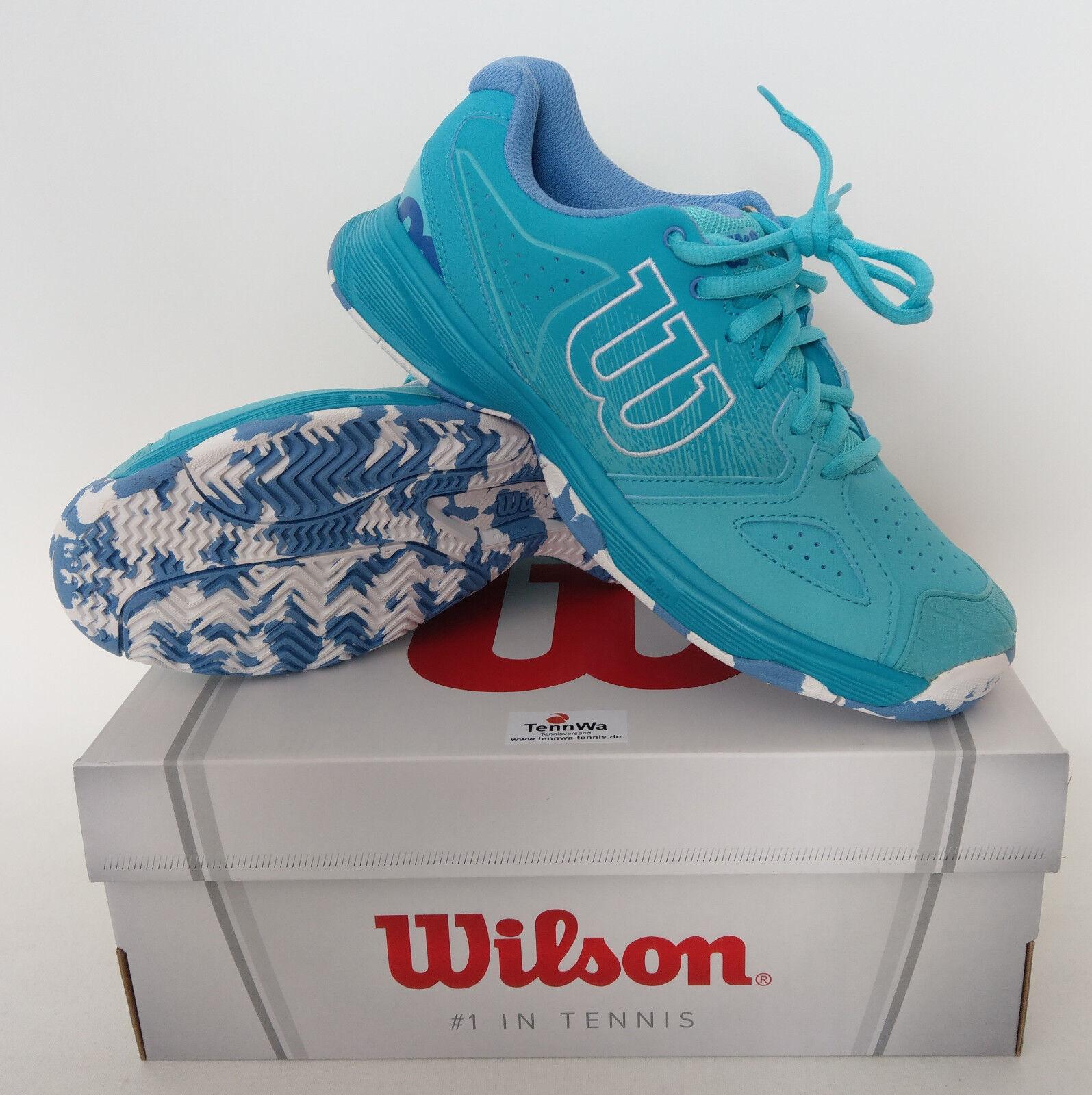 NEU: Damen Tennisschuhe WILSON KAOS Devo curacaoblue - super schick, statt 80€*