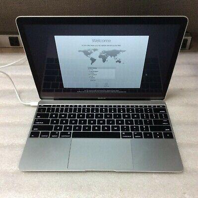 """Apple MacBook Retina MF865LLA 12"""" M-5Y51 1.2GHz 8GB RAM 512GB SSD Silver"""