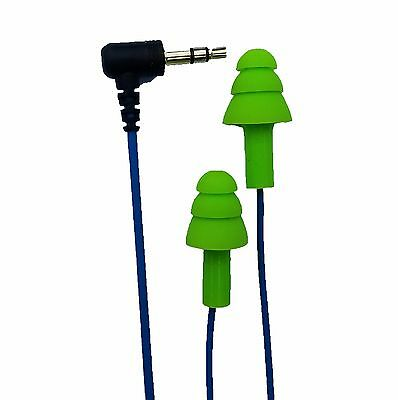Used, Workinbuds Green/Blue 2-Pack EARBUDS EARPLUGS HEADPHONES SILICONE Comfortable for sale  Shipping to India