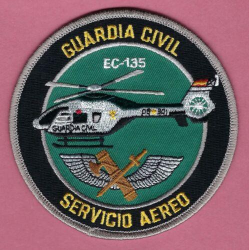 SPAIN GUARDIA CIVIL SERVICIO AEREO EC-135 POLICE HELICOPTER PATCH