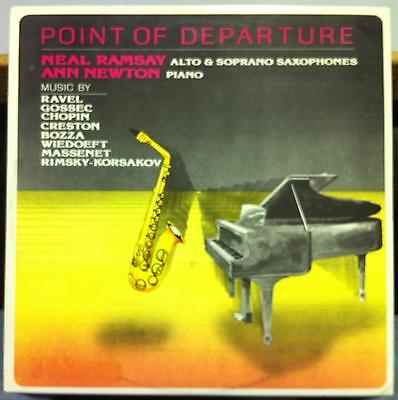 NEAL RAMSEY & ANN NEWTON point of departure LP Mint- CRP 8811 Private Classical