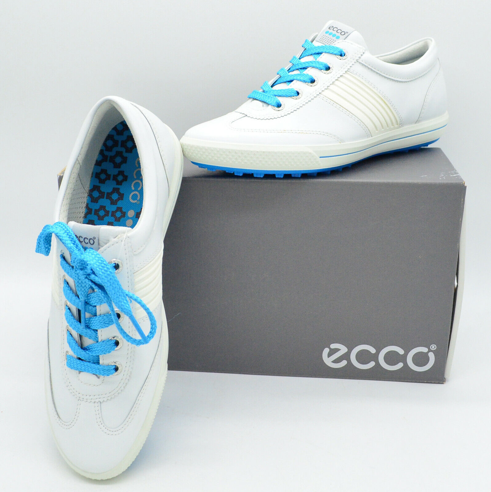 Ecco Womens Golf Street Lace Gr. 38 Damen Golf Schuhe Sport Mode Luxus, sneaker