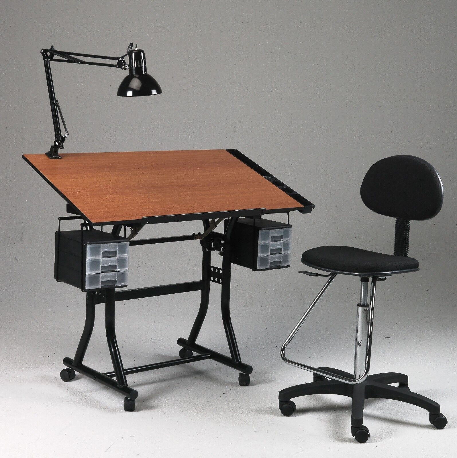 Black Drawing Art Hobby Craft Table Desk