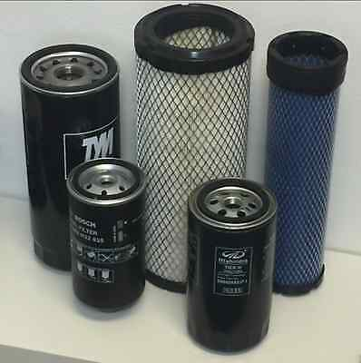 Mahindra Tractor Economy Pack Of 5 Filters -0455.0456.8803.8618.17975152101