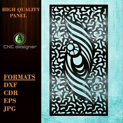 Dxf-cdr Of Plasma Laser And Router Cut -cnc Panel P 30 Art File