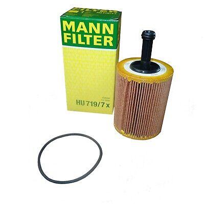 Original MANN Ölfilter HU719/7x Audi Seat Skoda VW Dodge Jeep Ford Mitsubishi Yeti Ersatzteile