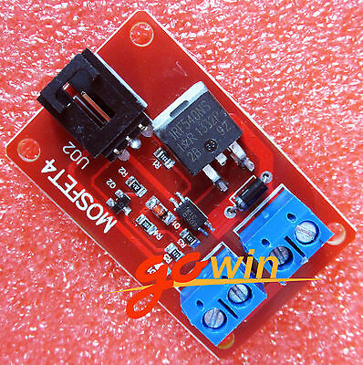 1 Channel 1 Route MOSFET Button IRF540 + MOSFET Switch Module Arduino