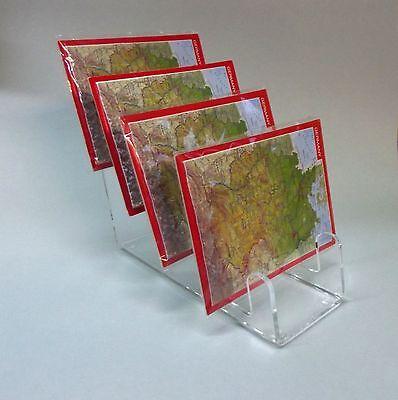 4-Fach Postkartenständer DIN A6,B6,C6 Postkarte,Postkartenhalter,Universal