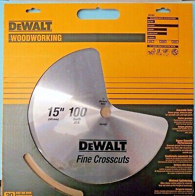 DEWALT DW7652 15 x 100  ATB Fine Crosscutting Saw -