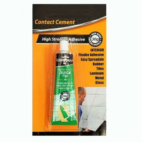 2-Pack. Contact Cement High Strength Quick Fix Adhesive 30g