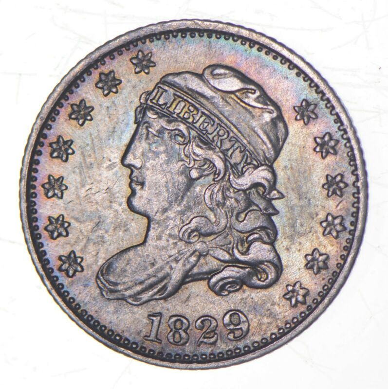 1829 Capped Bust Half Dime *9135