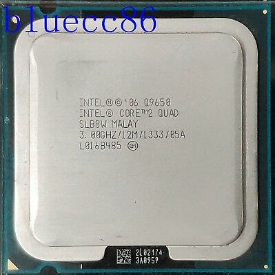 Intel Core 2 Quad Q9650 3GHz 12BM/1333Mhz  CPU Processor comprar usado  Enviando para Brazil
