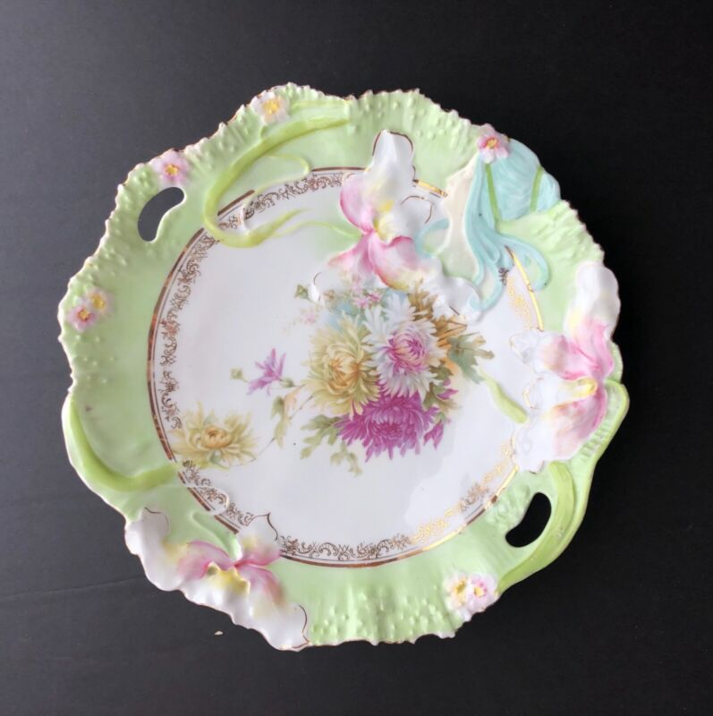 RS Prussia Hidden Lady Cake Plate