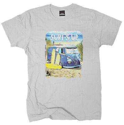 Kurzarm-shirt Reiten (Wolkenbruch® T-Shirt Surf`s up Wellenreiten Strand vers. Farben Gr.M bis XXXXL)