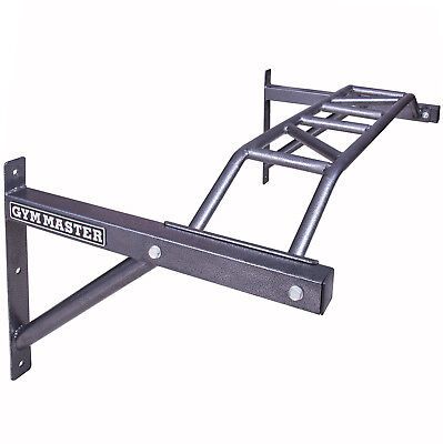 Gym Master Wall Mounted Wide Grip Multi Chin/Pull Up Bar Home Exercise Equipment