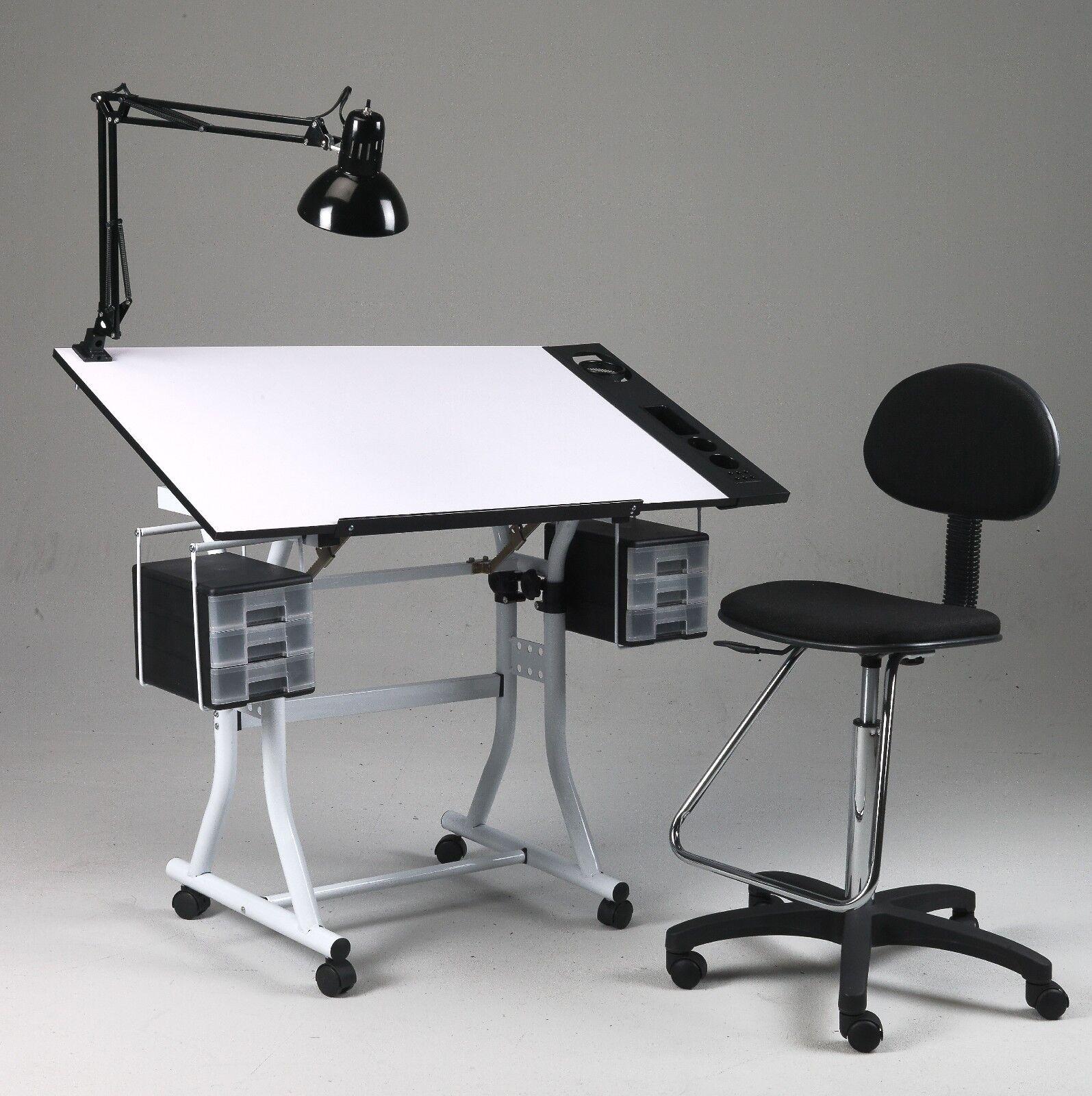 Corner Desk And Stool