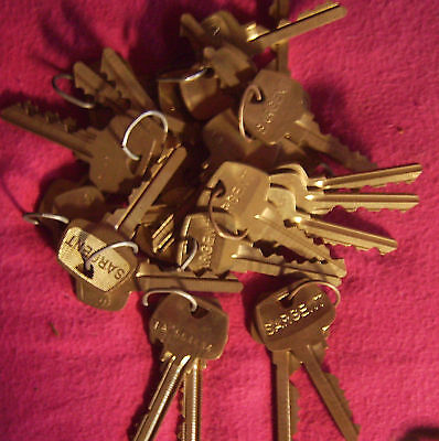 30 Pairs Sargent Factory Per-cuts La-6-pin Locksmithneeded For Rekeying