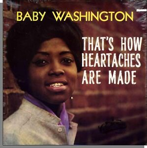 Baby Washington - That's How Heartaches Are Made - New Collectables LP Record!