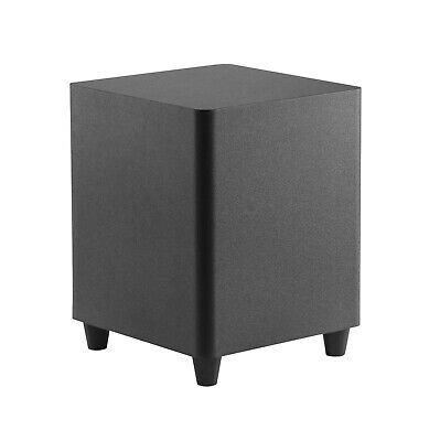TDX 8-Inch Down Firing Powered Subwoofer Home Theater Surrou