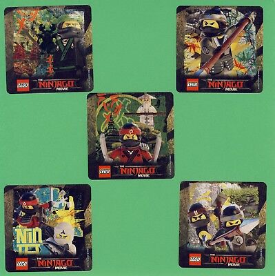 15 Lego Ninjago - Large Stickers - Party Favors - Rewards
