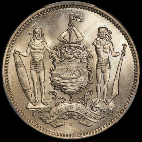 1928-H British North Borneo 5 Cents Coin - PCGS MS 66 - KM# 5