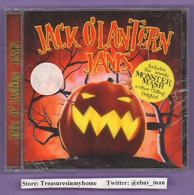 Jack O'Lantern Jams Monster Mash Halloween CD Digimusic Digiview 2007 NewSealed ](Jack Halloween Music)