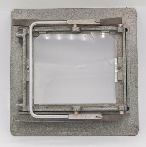 "Calumet 4 x 5"" Large Format Monorail Film Holder Back - Rough"