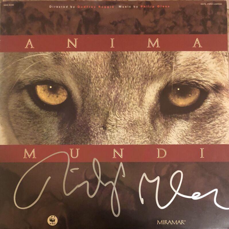 Philip Glass Signed Autographed Anima Mundi Vinyl Record