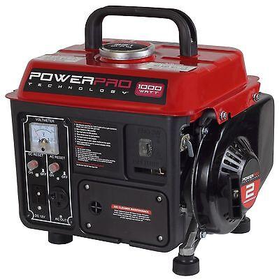 PowerPro 56101 2-Stroke Generator, 1000-Watt (SHIPS TO PUERTO RICO)