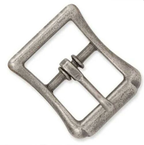 """All Purpose Strap Buckle 1""""  Antique Nickel Plated 1540-02 Tandy Leather"""