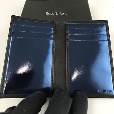 PAUL SMITH WALLET CARDHOLDER CARTERA BILLFOLD BILLETERA PIEL LEATHER NEW BOX