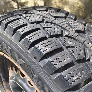 Sunny Winter-Grip Snow Tires on 15 inch Steel Rims