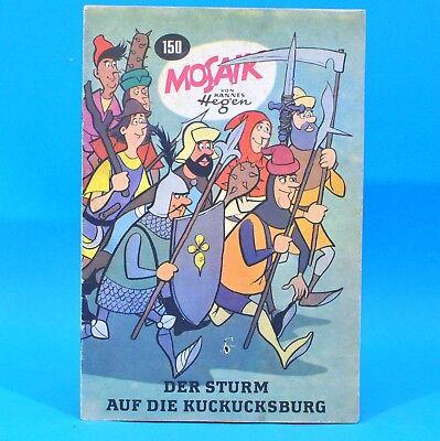 Mosaik 150 Digedags Hannes Hegen Originalheft | DDR | Sammlung original MZ 16